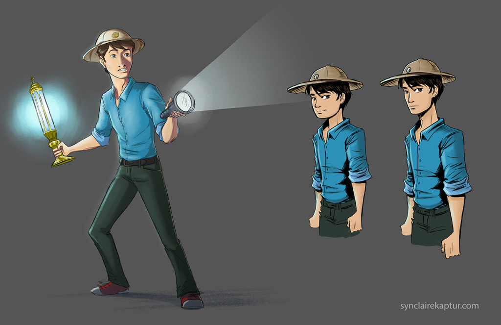 Will Wilder_character design